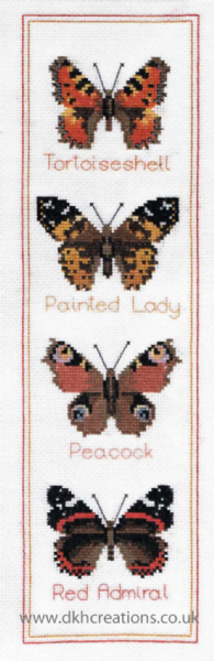 Butterfly Panel Cross Stitch Kit